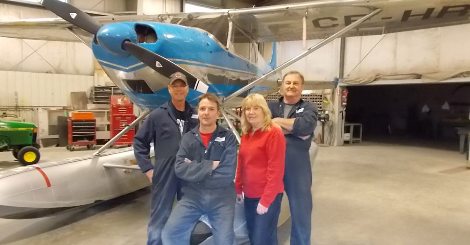 Aircraft storage and maintenance crew